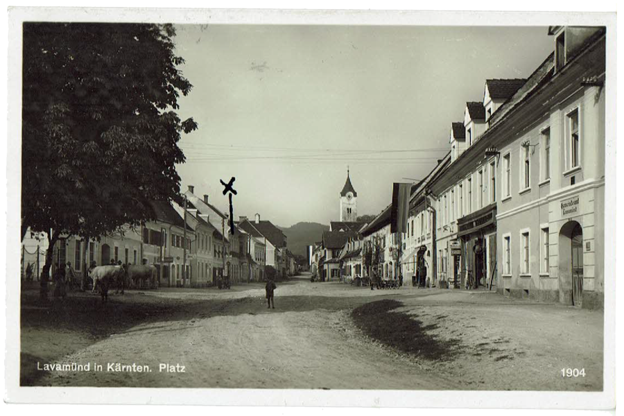 Lavamünd - Jahr 1904