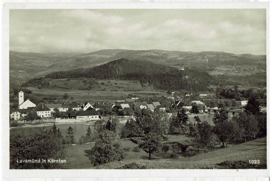 Lavamünd - Jahr 1923